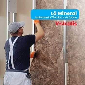 Isolamento Térmico e Acústico - Lã Mineral VOLCALISSaiba mais em: https://www.obras360.pt/loja?search=la%20mineral%20Vol...