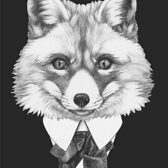 Est tu rusé(e) comme le renard ? 😅A  découvrir dans la boutique parmi 23 autres illustrations des animaux de la mafia su...