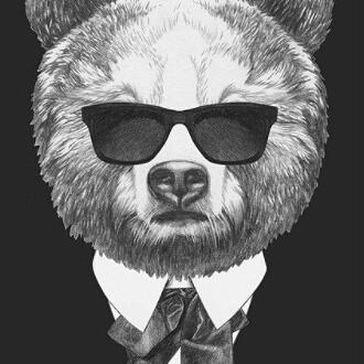 L ours brun ou nounours pour les intimes !😅 vous connaissez un nounours ? Mettez son nom en commentaire et voyez sa réac...