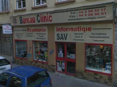 Bureau Clinic à Lyon est distributeur de matériel informatique, consommables, papeterie et toute la gamme des produits d...