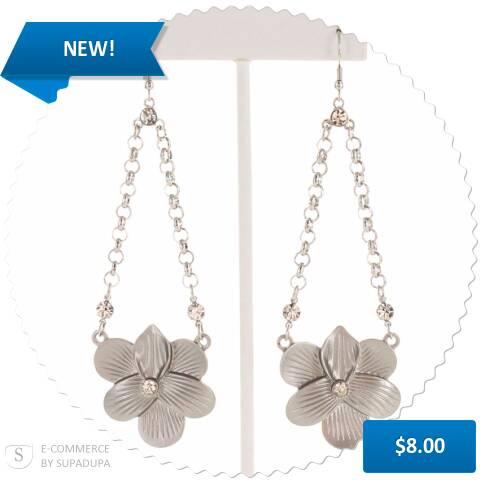 NEW! - Hanging Petals  via @supadupa.me http://www.alwaysaccessorized.com/products/hanging-petals