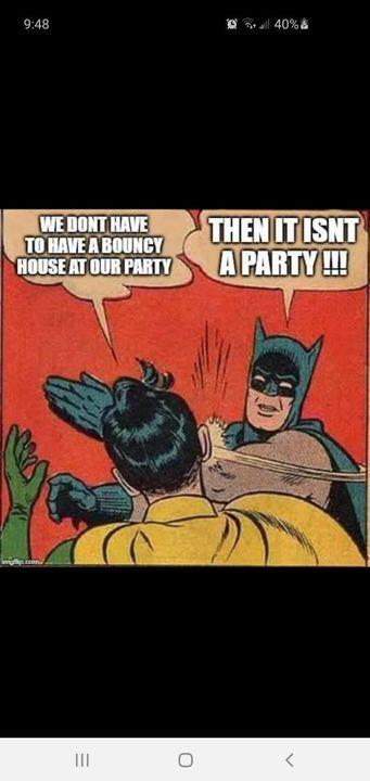 Batman's got it right!