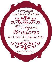 Le 4ème Festival de la Broderie à Compiègne. C'est ce week end et c'est seulement tous les 2 ans !(vendredi, samedi et d...